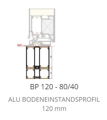P 120 Bodeneinstand Neubau