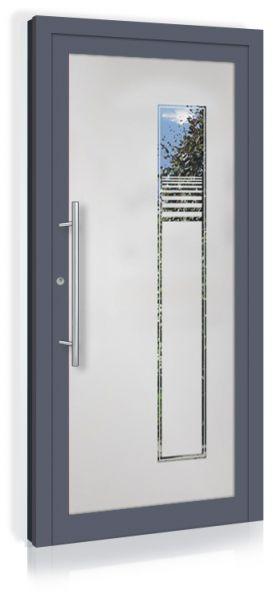 F&R VETRO-Line Ganzglashaustür Modell-Midland