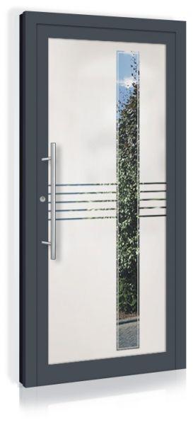 F&R VETRO-Line Ganzglashaustür Modell-Kansas
