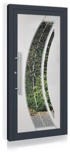F&R VETRO-Line Ganzglashaustür Modell-Strada