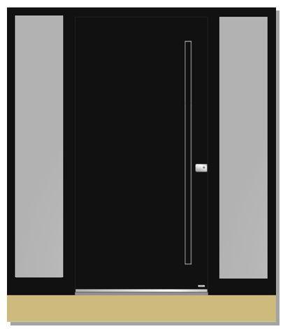 Anzahlung Pirnar Haustür Modell 1010, Details in AB PR2021-24044