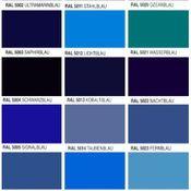 Blau-Matt