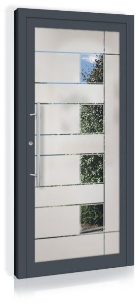 F&R VETRO-Line Ganzglashaustür Modell-Virginia