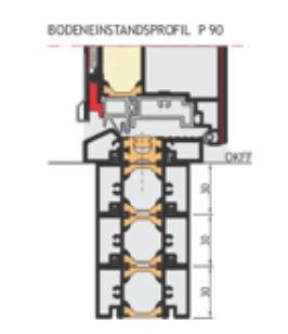 P 90 Bodeneinstand Neubau
