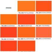 Orange-Glanz