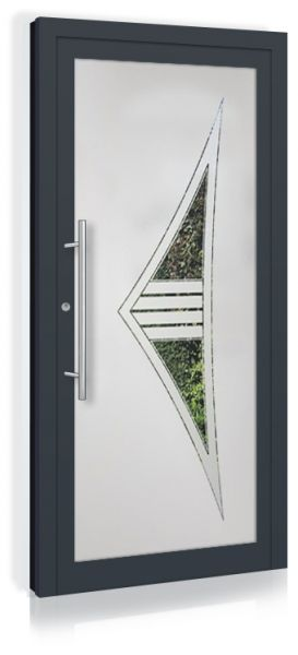 F&R VETRO-Line Ganzglashaustür Modell-Montreal